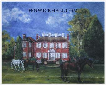 The Fenwick Hall Horse Farm (John's Island Stud) on the Stono River, 1750.