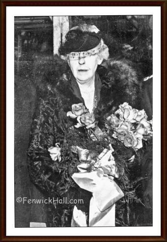 Mrs Marjorie Knott Morawetz. Photo courtesy Stacey Draper .