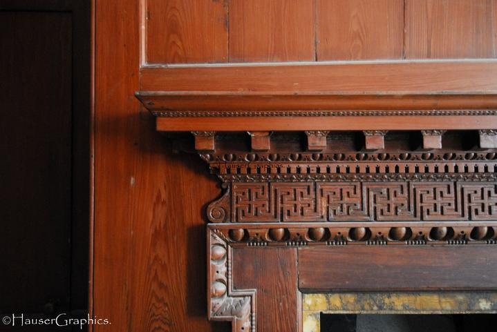 fireplace mantles 1700's