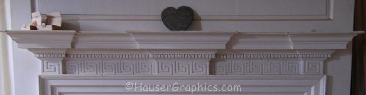 Col John Fenwick's Great Hall's Mantle